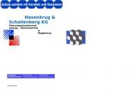Bild Webseite Hasenkrug-Schallenberg Fliesen Magdeburg