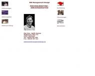 Bild Webseite MD Management Design Dipl.-Betr. Sybille Zywietz Hamburg