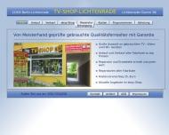 Bild Webseite TV- Shop-B96 Christian Fernsehgeschäft Berlin