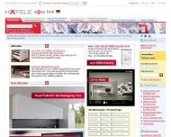 Bild Webseite Häfele Berlin