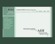 Bild Webseite AIH Assekuranzmakler für Industrie und Handel Magdeburg