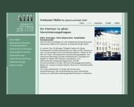 Website AIH Assekuranzmakler für Industrie und Handel
