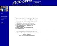Bild Webseite Opitz Henry Frankfurt