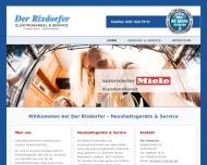 Bild Webseite Sahin Solmaz Elektrogeräteverkauf u.Service Berlin