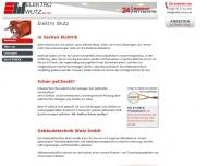 Bild Webseite Elektro Wutz München