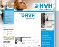Website HVH Handel Vertretungen Handwerk