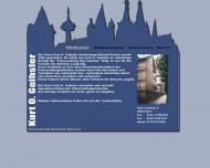 Bild Webseite Kurt O. Geihsler - Vermietung, Verkauf, Service Köln