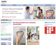 Bild Webseite Merten Hamburg