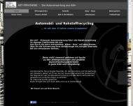Bild Webseite AST - Pikowski (Autoverwertung Köln) Köln