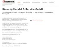 Bild Könning G. Handel & Vermietung GmbH
