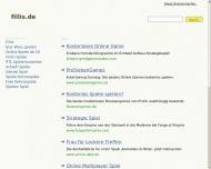Bild Webseite Werbestudio Fillis Köln