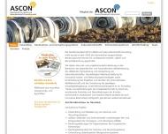 Bild ASCON Ges. für Abfall- u. Sekundärstoffe Consulting GmbH