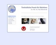 Bild Tierärztliche Praxis für Kleintiere  Dr. Anja Kleinschroth
