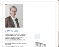 Website Dipl.-Ing. Architekt Gernot Lotz