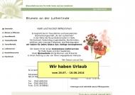 Bild Blumen Halle Saale