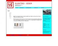 Elektro Eder GmbH besteht seit 1981 und hat Ihren Sitz in