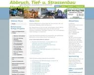 Bild Webseite Hartlepp Volker Abriß & Recycling Freital
