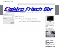 Website Elektro Frisch