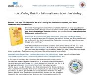 Bild Webseite m. w. Verlag Gesellschaft Frankfurt