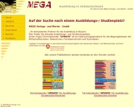 Bild Webseite mega Verlags- und Werbe München