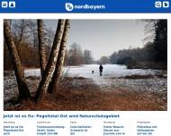 Bild Webseite Nordbayerische Verlagsges. Nürnberg