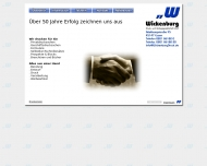 Bild Webseite Wickenburg Druck- u. Verlags Essen