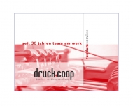 Website Druckcooperative Offset und Verlag