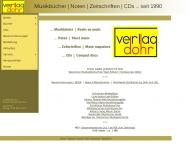 Bild Webseite Dohr Christoph Köln