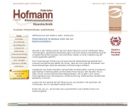 Bild Webseite Gebrüder Hofmann Haustechnik Nürnberg