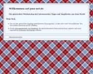 Bild Webseite pma-projekt management Postfeld