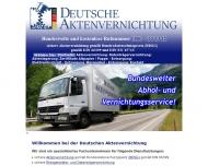 Bild DEUTSCHE AKTENVERNICHTUNG DAV GmbH