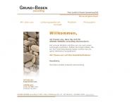 Bild Webseite Grund+Boden consulting Berlin