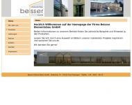 Bild Webseite beisser elementebau Feuchtwangen