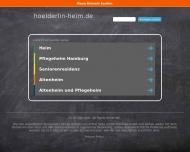 Bild Seniorenresidenz Hölderlinstraße GmbH Altenheim