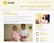 Bild Gemeinnützige Gesellschaft für Alten- und Behindertenhilfe mbH