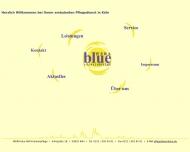 Bild Webseite WERA blue Krankenpflegedienst Köln