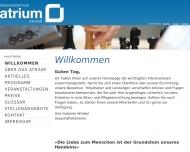 Bild Atrium Seniorenwohnanlagen GmbH & Co. KG