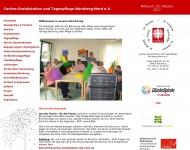 Bild Webseite Sozialstation der Caritas u. Tagespflege Nbg-Nord Nürnberg