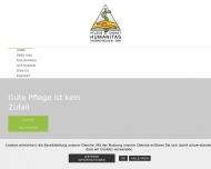 Bild Webseite Humanitas Pflegedienst für kranke u. alte Menschen Aachen