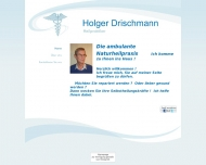 Website Drischmann Holger