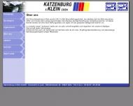 Website Katzenburg & Klein