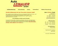 Bild Auto Leinauer GmbH