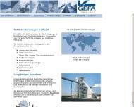 Bild GEFA Gesellschaft für Förderanlagenbau mbH