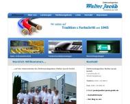 Walter Jacob Elektroanlagenbau GmbH Magdeburg - Elektroinstallation, Telekommunikationsanlagen, Date...