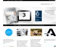Bild Webseite GINGCO Corporate Communication München