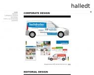 Bild Webseite Halledt Werbeagentur Hamburg