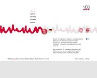 Bild Webseite NBB Kommunikation München