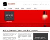 Bild Webseite pool 91 Werbeagentur München