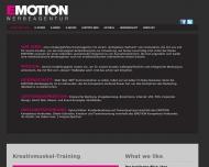Bild Webseite Emotion Werbeagentur Trebur