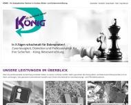 Bild Webseite König Akten- und Datenvernichtung Weidenberg